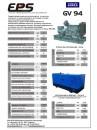 Технические характеристики дизельных генераторов на двигателях VOLVO PENTA