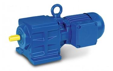 Соосный цилиндрический мотор-редуктор серии BG
