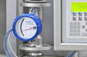 Ротаметр для жидкостей и газов при направлении потока обратно-вертикально «сверху вниз» или горизонтально